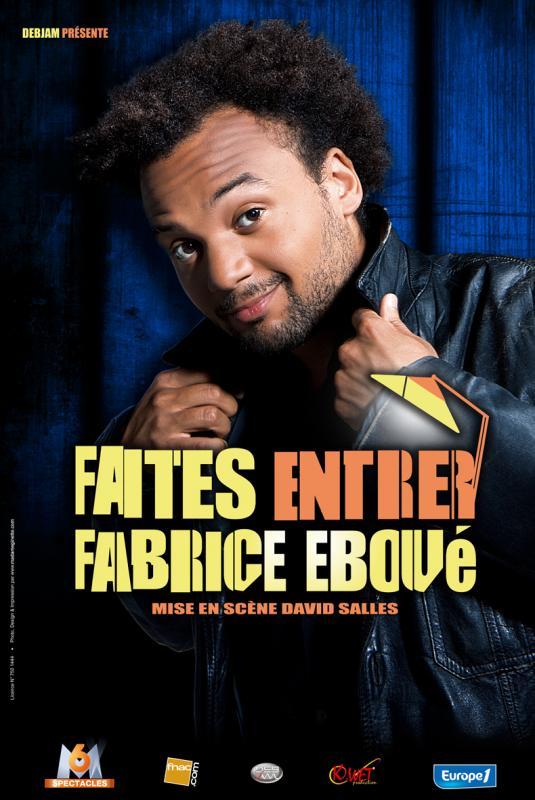 affiche film Faites entrer Fabrice Ebou�